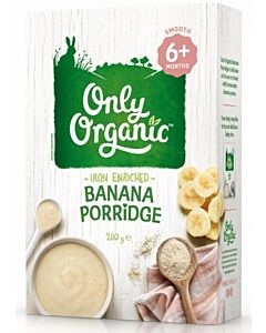 Only Organic: Banana Porridge 200gm (6+ Months) - 17% OFF!!