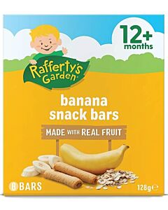 Rafferty's Garden: Banana Snack Bars [8 Bars] 128g (12+ Months) - 16% OFF!!