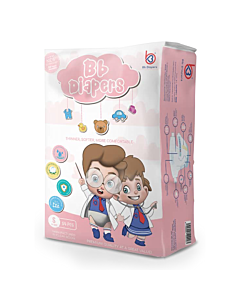 BB Diapers - S54 (4 - 8kg) - 16% OFF!