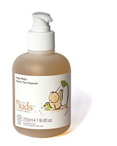 Buds Cherished Organics: Happy Baby Head to Toe Cleanser 250ml - 15% OFF!