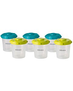 Beaba: Clip Portions Containers - Set of 6 (200ml) - 34% OFF!