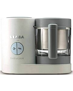 Beaba Babycook Neo Baby Food Maker - Cloud White (White/Grey)