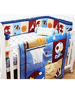 Happy Cot: Bedding Set - Ball Games - 10% OFF!!