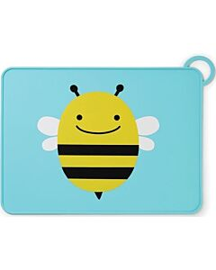 Skip Hop: Zoo Fold & Go Silicone Kids Placemat - Bee - 15% OFF!!