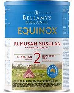 Bellamy's Organic Follow-On Formula (Step 2) EQUINOX 900g - 17% OFF!!