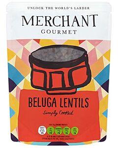 Merchant Gourmet: Beluga Lentils 250g