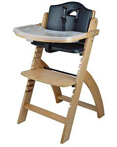 Abiie Beyond Y High Chair - Natural + Black Pearl