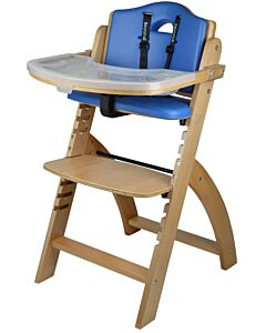 Abiie Beyond Y High Chair - Natural + Blueberry