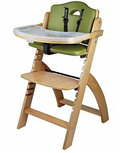 Abiie Beyond Y High Chair - Natural + Olive