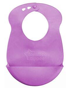 Tommee Tippee: Roll & Go Bib - Purple - 23% OFF!!