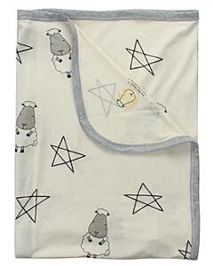 Baa Baa Sheepz: Single Layer Blanket Big Star & Sheepz (Yellow) - 10% OFF!!