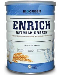 BIOGREEN Enrich Oatmilk Energy 850g - 12% OFF!!
