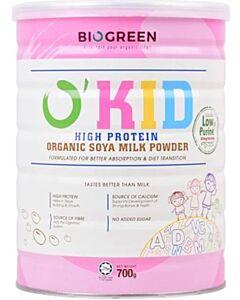 BIOGREEN O'Kid High Protein Organic Soya Milk (HALAL) 700g - 16% OFF!!