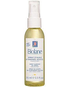 Biolane Sweet Almond Oil Spray 75ml - 10% OFF!