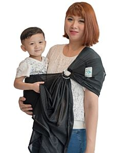 SUKKIRi: Mesh Ring Sling - Black - 22% OFF!!