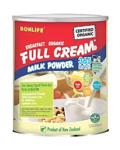 Bonlife Organic Full Cream Milk (800g) - 12% OFF!!