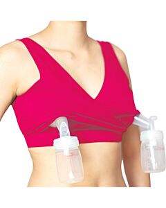 Boss Mama: Real-Support Bra - S (Pink)