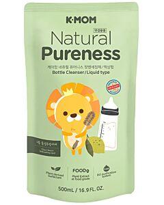 K-Mom - Natural Pureness Feeding Bottle Cleanser - Liquid Type - Refill (500ml)