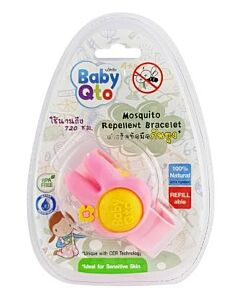 BabyQto: Mosquito Repellent Bracelet (Rabbit) - 25% OFF!!