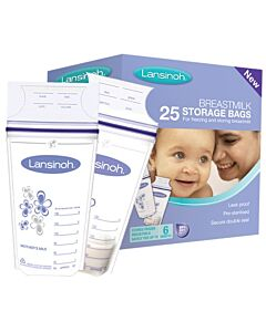 Lansinoh: Breastmilk Storage Bags 25pcs - 30% OFF!!