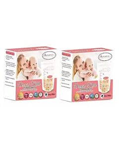 Autumnz: Double Zip Lock Breastmilk Storage Bag (28 bags x 2 pack) 12 oz/350ml - (2 BOXES) - 25% OFF!!