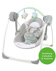 Bright Starts: Ingenuity Comfort 2 Go Portable Swing™ – Fanciful Forest™