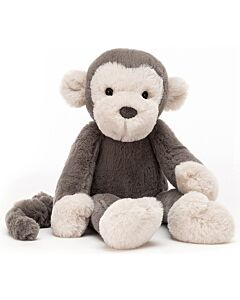 Jellycat: Brodie Monkey - Medium (34cm) [PREORDER - Limited units arriving on 18 May]