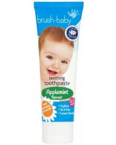 Brush Baby: Baby & Toddler Toothpaste 50ml (0-3yrs) - Applemint - 18% OFF!!