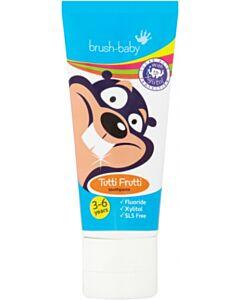 Brush Baby: Children's Toothpaste 50ml (3-6yrs) - Tutti Frutti - 34% OFF!!