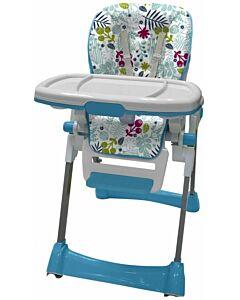 Bubbles Garden Blue High Chair - 40% OFF!
