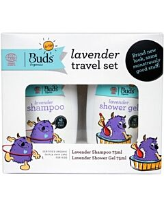 Buds For Kids: Lavender Travel Set