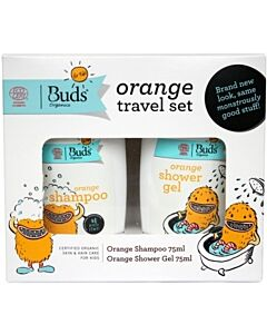 Buds For Kids: Orange Travel Set