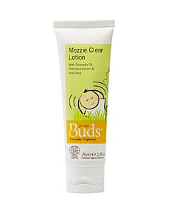 Buds Everyday Organics: Mozzie Clear Lotion 75ml - 15% OFF!