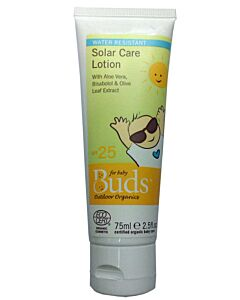 Buds Everyday Organics: Solar Care Lotion 75ml - 15% OFF!