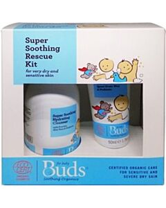 Buds Soothing Organics: Super Soothing Rescue Kit (Eczema Rescue Kit) - 15% OFF!!