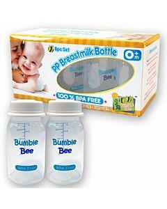 Bumble Bee: Breastmilk Storage Bottles (BPA Free) 8pcs + FREE 2pcs [10% OFF!!]
