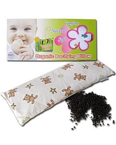 Bumble Bee: Bean Sprout Pacifying Pillow - White (Knit Fabric) - 34% OFF!!