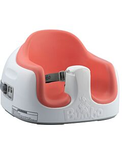 Bumbo: 3-in-1 Multi Seat (Coral) (Comes with a Tray) - 30% OFF!
