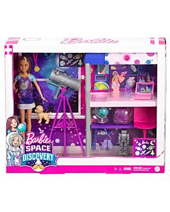 Barbie® Space Discovery™ Stacie™ Doll & Bedroom Playset with Puppy & Expanding Bunk Bed (3Y+) - 15% OFF!!