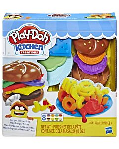Play-Doh: Kitchen Creations - Burger 'n Fries Set (3 Years Old & Above) - 10% OFF!!