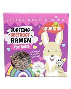 Little Baby Grains: Bursting Beetroot Ramen for Kids - 12% OFF!!