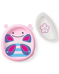 Skip Hop: Zoo Smart Serve Plate & Bowl - Butterfly - 20% OFF!!