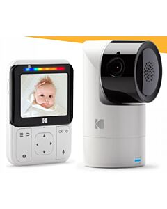KODAK Cherish C225 Smart Video Baby Monitor - 23% OFF!!