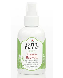 Earth Mama Baby Calendula Baby Oil 120ml - 10% OFF!!