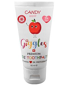 Giggles: Premium Kids Toothpaste 50ml - Candy Apple (1-6 years) - 10% OFF!!