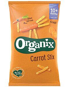 Organix Goodies Carrot Stix 4x15g (10+ Months)