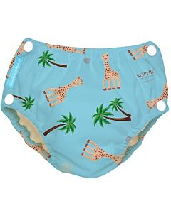 Charlie Banana: Reusable 2-in-1 Swim Diapers and Training Pants Sophie Coco Blue - L - 30% OFF!!