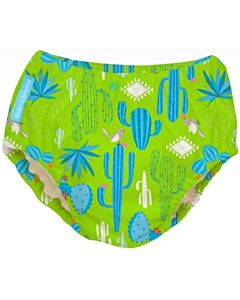 Charlie Banana: Reusable 2-in-1 Swim Diapers and Training Pants Cactus Verde - M