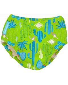 Charlie Banana: Reusable 2-in-1 Swim Diapers and Training Pants Cactus Verde - M