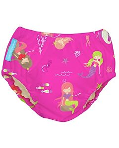 Charlie Banana: Reusable 2-in-1 Swim Diapers and Training Pants Mermaid Zoe - XL